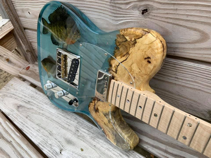 JL Custom Guitars Bluegill Epoxy Guitar