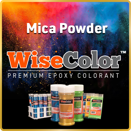 WiseColor™ Premium Epoxy Mica Colorants