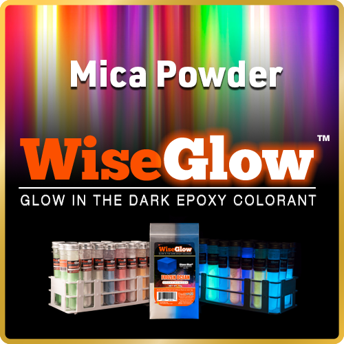 WiseGlow™ Glow In The Dark Epoxy Colorant