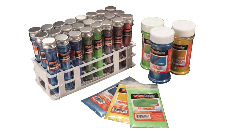 WiseColor Epoxy Mica Colorant Powders