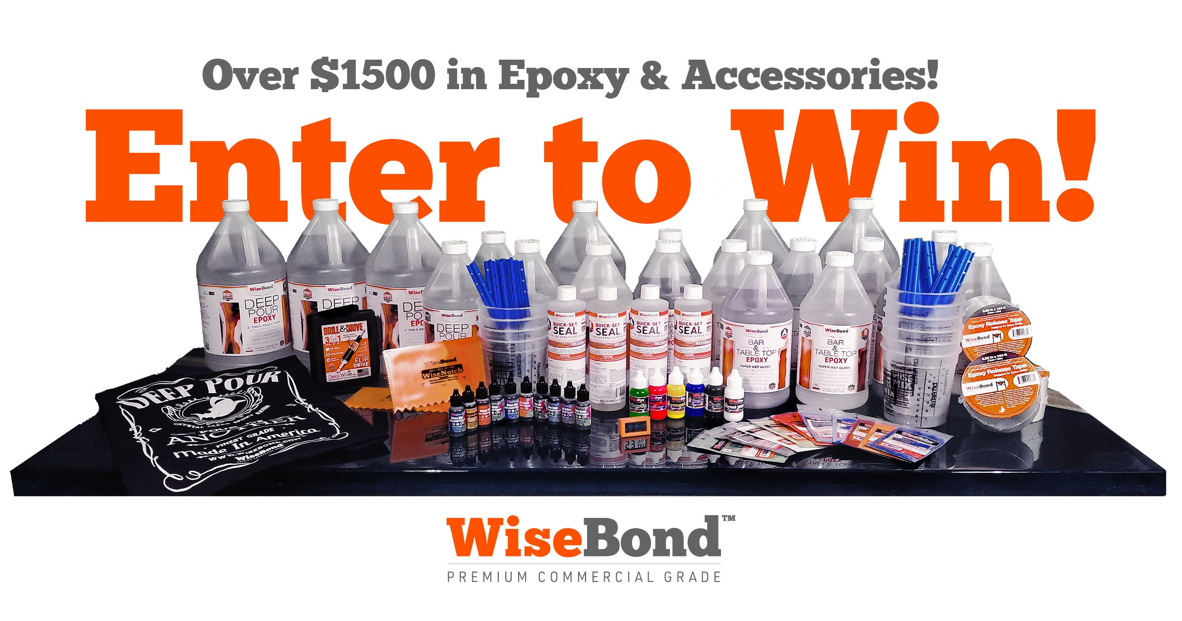 WiseBond Epoxy Contest - Enter Today