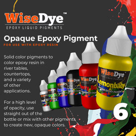 6 Pack - Opaque Epoxy Pigment