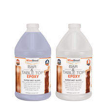 Load image into Gallery viewer, WiseBond™ Bar & Table Top Epoxy 1:1 Ratio Kit