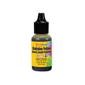 Gadsden Yellow - WiseInk™ Epoxy Liquid Pigment