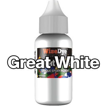 Great White - Opaque Epoxy Pigment