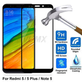9D Tempered Glass For Xiaomi Redmi Note 5 Note5 Pro global Glass Protective For Redmi 5 redmi5 Plus Full Cover Screen Protector