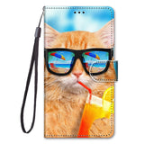Luxury Leather Flip Wallet Case For Samsung Galaxy J2 Pro J3 J5 J7 2016 2017 EU J4 J6 Plus J8 2018 3D Cartoon Stand Phone Cover