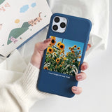 Fashion Little Fresh Couples Case For OPPO Realme 5 Pro Reno 2 F 3 F5 F11 F9 A83 A3S A71 A57 A59 A37 R9 R9S A5 2020 Cover Flower