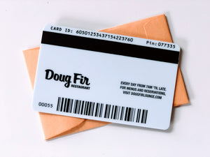 Doug Fir Gift Card