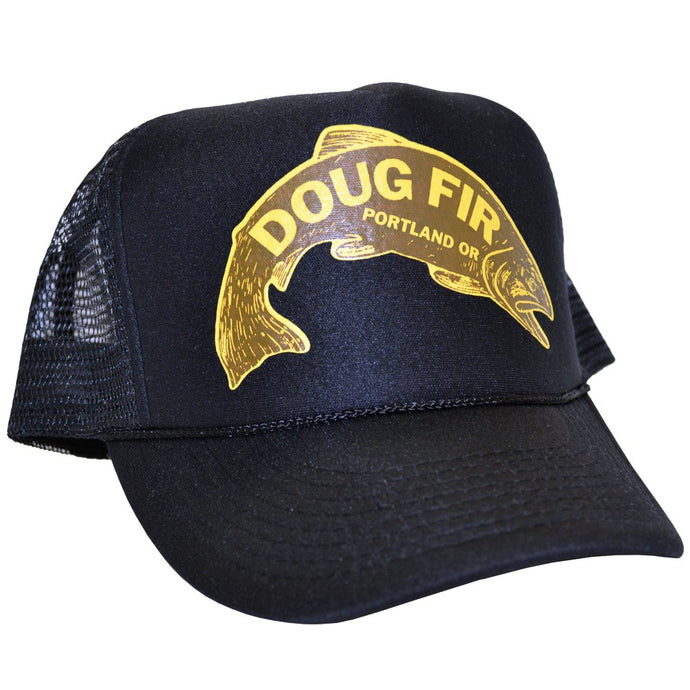 Trout Black Trucker