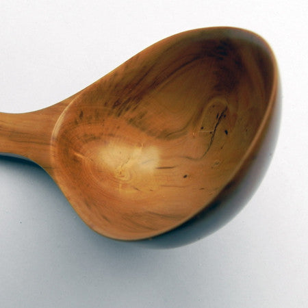 Hand carved box wood spoon