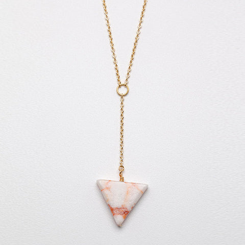 Sandstone Point Necklace