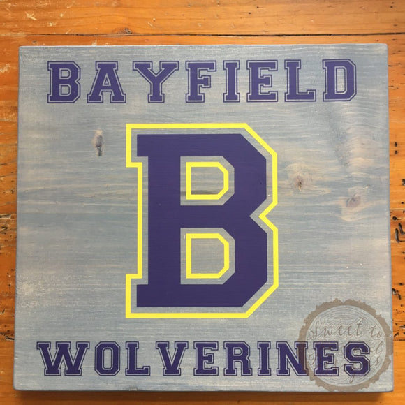 Personalized Custom Family Name Wood Sign & Home Decor