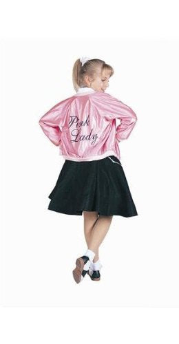 Rg Costumes 50'S Pink Lady Jacket, Child Small/Size 4-6