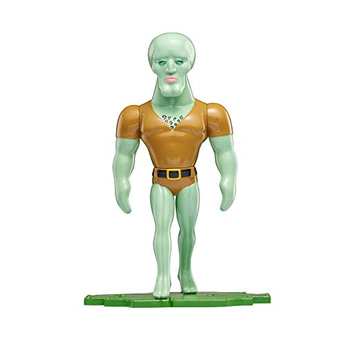 Spongebob Squarepants, Masterpiece Memes, 8 Collectible Vinyl Figure, Handsome Squidward (Closed Eyes)