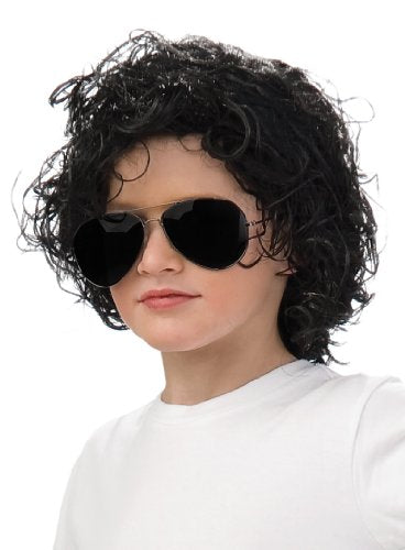 Rubies Michael Jackson Curly Child Wig