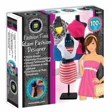 Glam Fashion Designer Fashion Time By Amav Kids Girls Arts Crafts Activity
