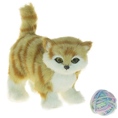 Awsom Pets! Tabby Kitty Sized For Your 18 Inch Doll. The Queen'S Treasures Tabby Cat Is The Perfect Furry Companion Doll Toy. Friend For Your American Girl Doll And Other 18 Inch Dolls!