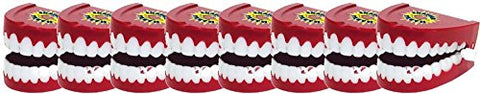 Ja-Ru 24125 Jokes And Gags Chatter Teeth Party Favor Bundle Pack Novelty