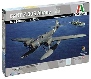 Italeri 1360 1: 72 Cant.Z 506 Airone Historic Upgrade, Aircraft