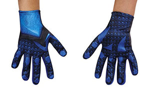 Disguise Blue Power Rangers Movie Child Gloves, One Size