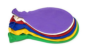 6 Big Balloons - 36  - Assorted Colors