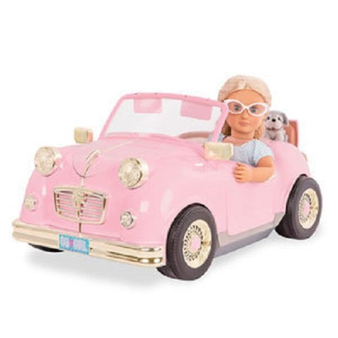 Our Generation Retro Car Doll 18 Inch, 18
