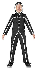 Seasons Light Up Stick Man Costume, Medium (8-10)