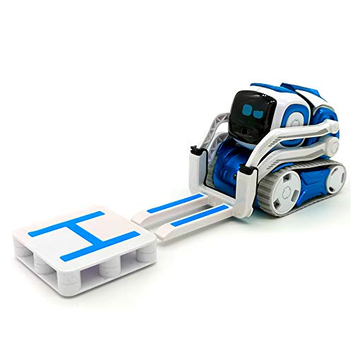 Hexnub Anki Cozmo Lifting-Kit Accessories To Boost Your App-Controlled Toy Robots (White/Blue)