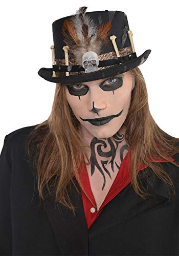 Amscan Witch Doctor Hat Halloween Costume Accessories, One Size