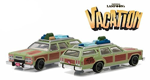 1979 Family Truckster Wagon Queen Honky Lips Version National Lampoon'S Vacation Movie (1983) 1/64 By Greenlight 44730 A