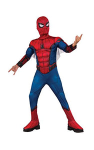 Rubie'S Costume Spider-Man Homecoming Deluxe Muscle Chest Costume, Large, Multicolor