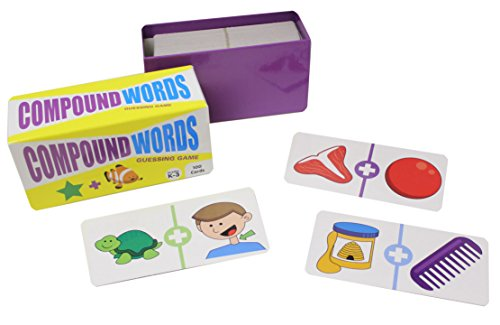 Compound Words Guessing Game Quiz Puzzle Game - Language Arts Teacher Supply - Language Arts Teacher Supply - Teacher Language Arts Supplies - Spelling Writing Activity