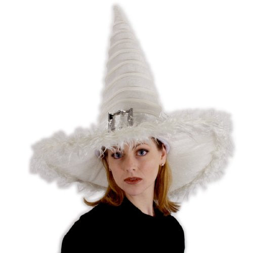 Elope Unisex Adult Good Witch Hat White