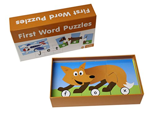 Curious Minds Busy Bags First Words Puzzle - Language Arts Teacher Supply - Cvc Words - Spelling Writing Activity