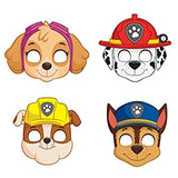 Paw Patrol Party For 16 - Plates, Cups, Napkins, Birthday Hats, Balloons, Masks, Loot Bags, Hanging Decorations, Tattoos, Table Cover, Party Blowouts - Paw Patrol Party Decorations And Supplies
