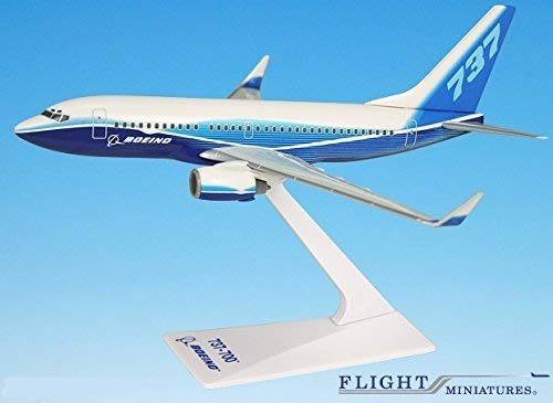 Boeing Demo (04-Cur) 737-700W Airplane Miniature Model Plastic Snap Fit 1:200 Part# Abo-73770H-020