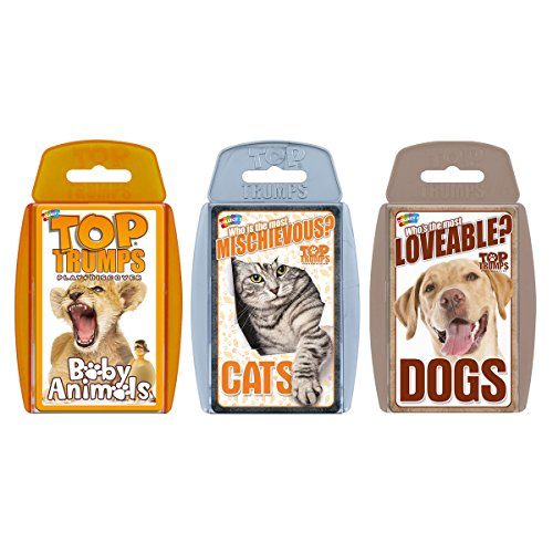 Cute Animals Top Trumps Card Game Bundle