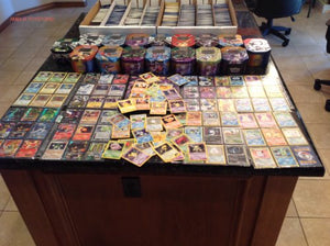 150 Assorted Pokemon Card Lot With Foils! Free Bonus Collector'S Tin Included!