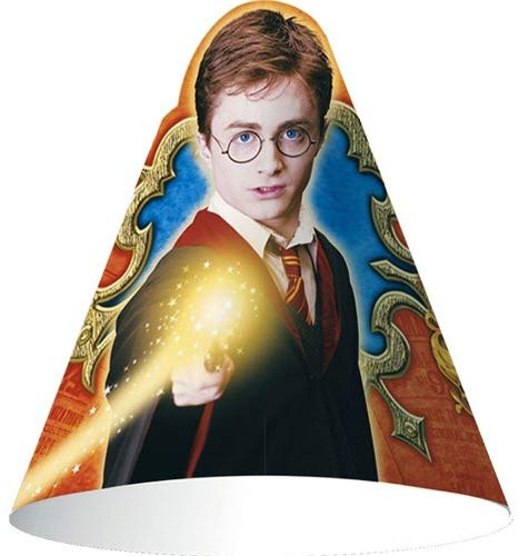 Harry Potter 'Order Of The Phoenix' Cone Hats (8Ct)