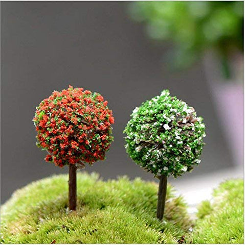 29Pcs Mixed Model Trees, 1 5-5 Inch(4-12 Cm), Orgmemory Fruit Trees, Ho  Scale Trees, Model Train Scenery, Architecture Trees, Flower Trees With No