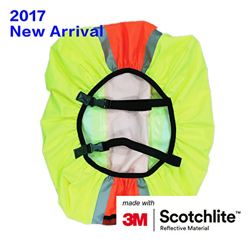 0e6da8ffe7c3 Salzmann 3M Scotchlite Reflective Backpack Cover