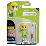 World Of Nintendo 91453 4 Link Wind Waker Hd Action Figure