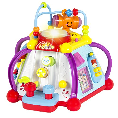 Best Choice Products Musical Activity Cube Toy Game Play Center W/ Lights, Sounds & 15 Functions