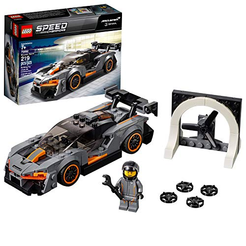 Lego Speed Champions Mclaren Senna 75892 Building Kit , New 2019 (219 Piece)