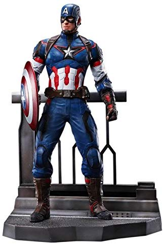 Dragon Models 1/9 Age Of Ultron Captain America Action Hero Vignette Building Kit