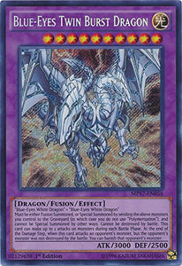 Blue-Eyes Twin Burst Dragon - Mp17-En056 - Secret Rare - 1St Edition - 2017 Mega-Tin Mega Pack (1St Edition)