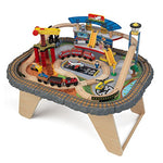 Kidkraft 17564.0 Transportation Station Train Set And Table Toy