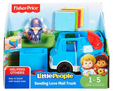 Fisher-Price Little People Vehicle Mail Truck, Small