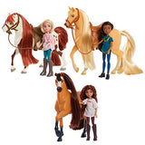 Just Play Spirit Riding Free Small Doll & Collector Horse Set - Lucky & Spirit